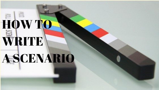 how to write scenario