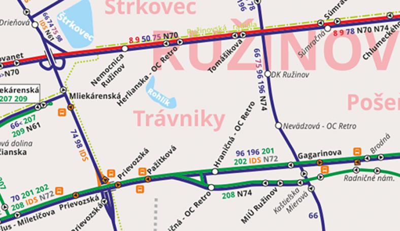 MHD-mapa